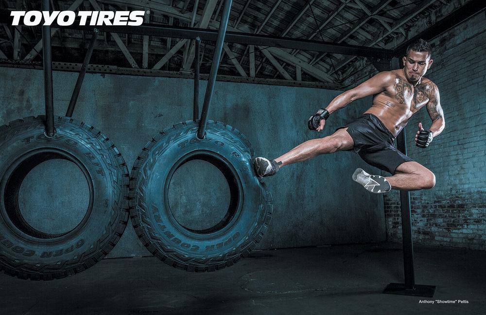 UFC Toyo Tires együttműködés - Conor McGregor